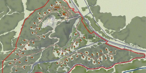 Nevis Forest Cabins Masterplan